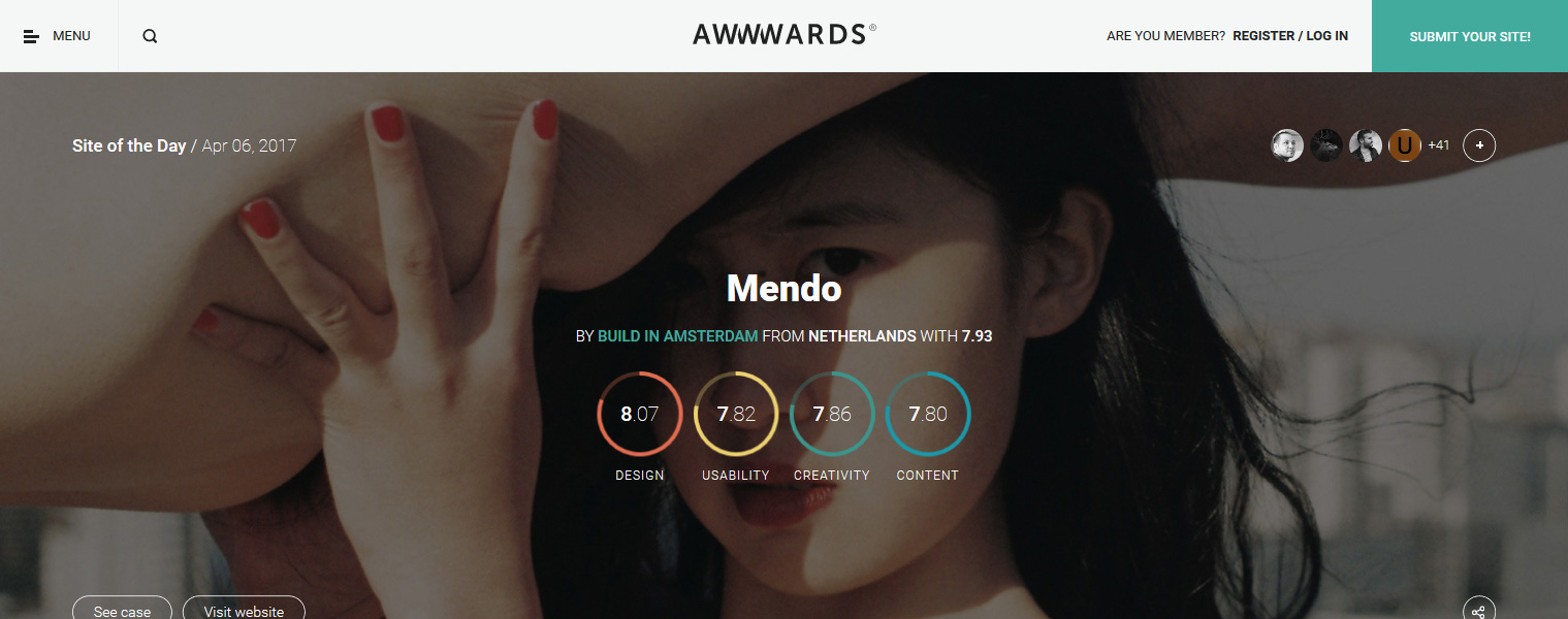 Awwwards - Webdesign Inspiration