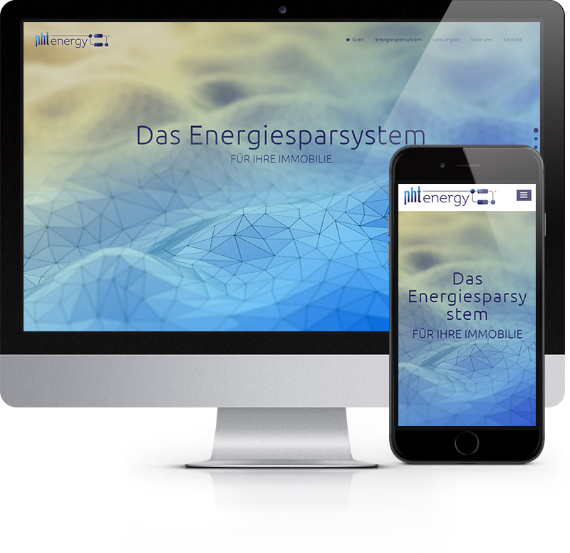 Webdesign Referenz - NHT Energy