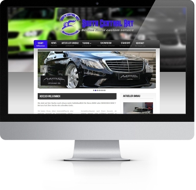 Webdesign Referenz - South Central Art Tuning