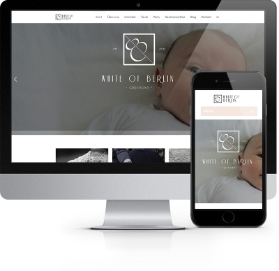Webdesign Referenz - White of Berlin